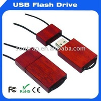fashion wooden wearable usb flash disk