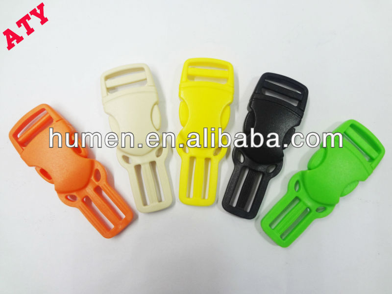 Guangdong plastic strap side releasable buckles