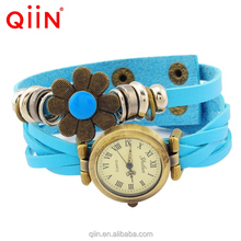 QU0224 hot selling genuine leather vogue watch ladies vintage watch in stock