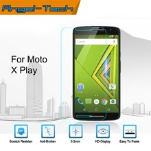 Hot sale!Wholesale price tempered glass screen protector for MOTO X Play