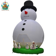 hot sale high quality christmas santa claus mini christmas inflatables decoration outdoor