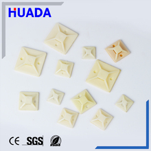 Huada nylon Self-adhesive cable tie fixed mounts