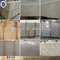 High polished natural marble oman beige marble tiles for home decoration
