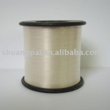 scouring pad transparent metallic yarn