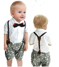 F20191A Wholesale high quality baby cotton romper boys birthday frocks stars print prince clothes for boys
