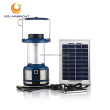 Solarbright emergency hang portable rechargeable outdoor lighting 36LED camping solar led lantern