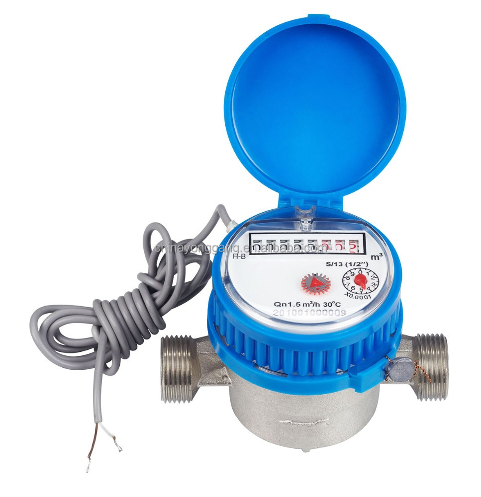 Remote Reading smart Water Meter with pulse output