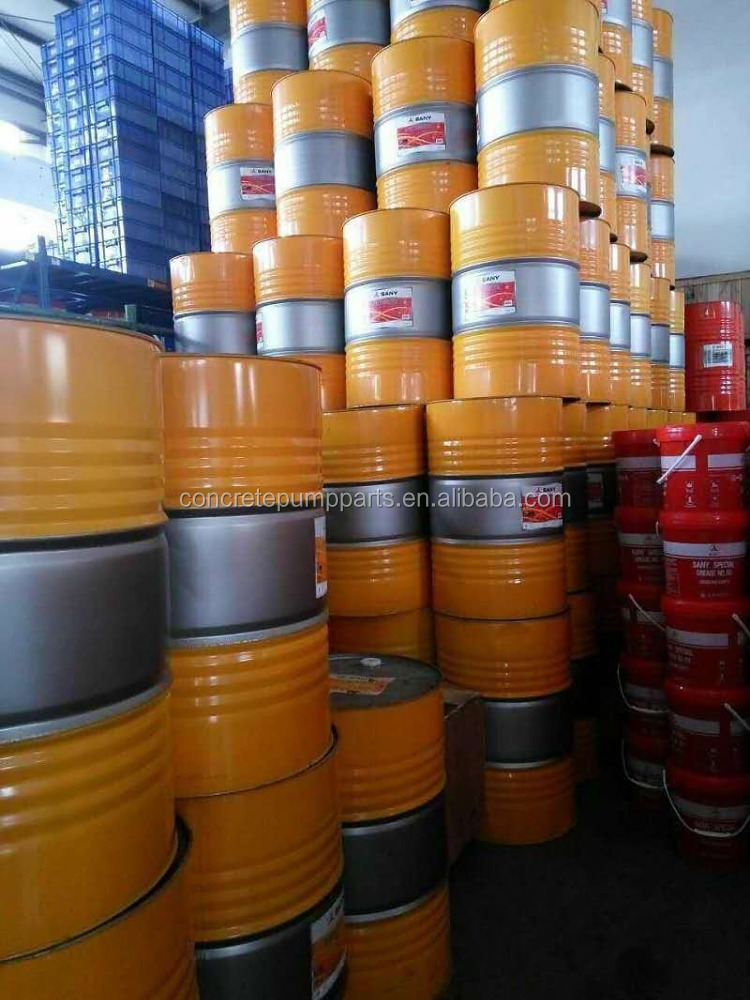 Total hydraulic oil for Sany concrete pump truck