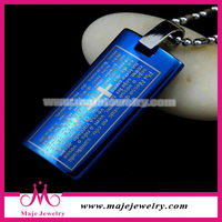 2014 New Design Fashion Bible Pendant,Stainless Steel Charm Holy Book Pendant,Scripture Pendant