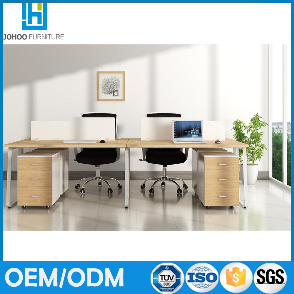Sales promotion latest desktop computer desk office counter table design and cabinet