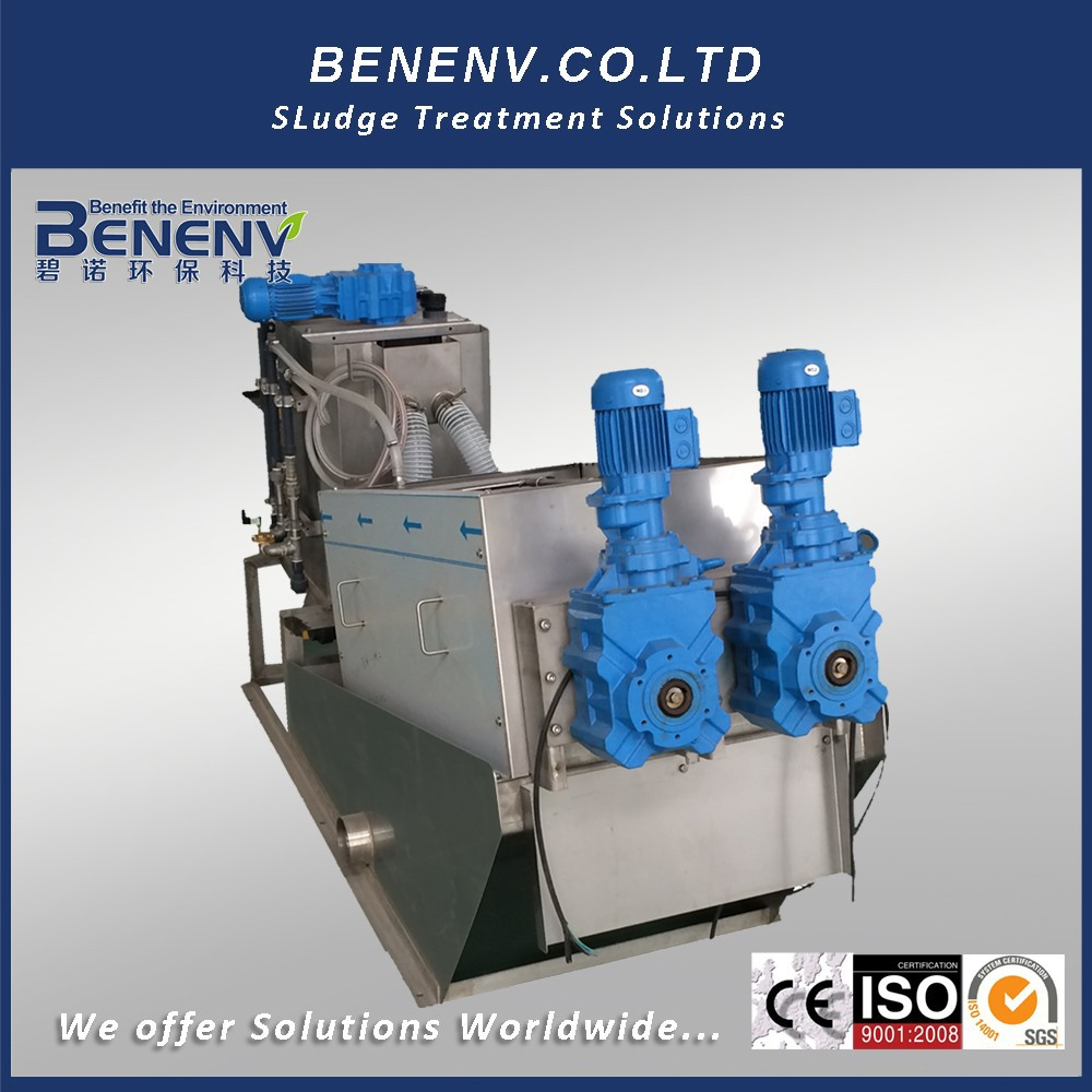 ISO9001 sludge drying equipment for solid waste separator