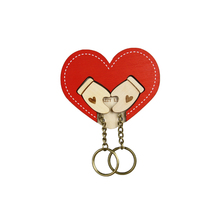 Duet Style - Wood Craft, Delicate Decoration, Customization Key Holder