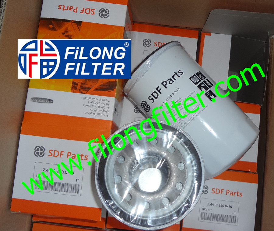 Supply FILONG For SDF PARTS Oil filter 2.4419.350.0/10 244193500/10 24419350010