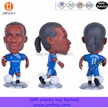 custom football player v pvc bobblehead dollmotional Bobblehead figure,Sports Star BobbleHead For Collection