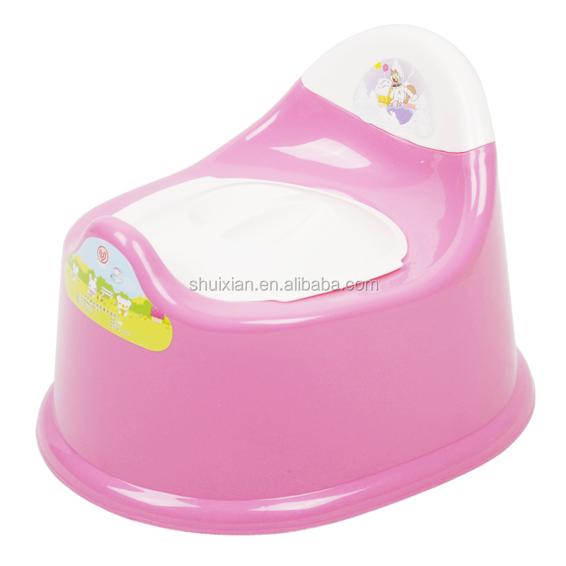 Hot selling new PP plastic baby potty baby closestool
