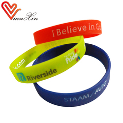 identification light blue blood circulation silicone wristband