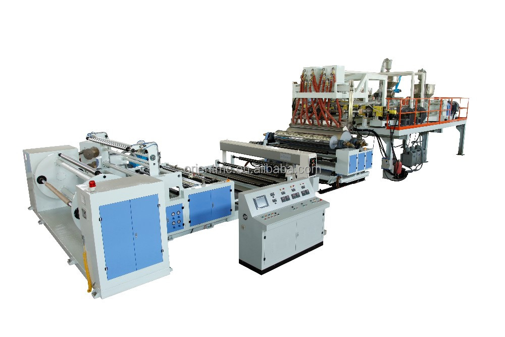 High Speed Automatic Casting Film Machine