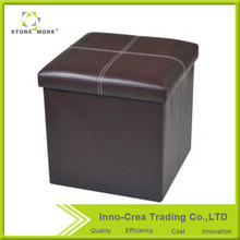 Hot Selling Multifunction PVC Fancy Stool Ottoman