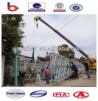 galvanized portable bridge