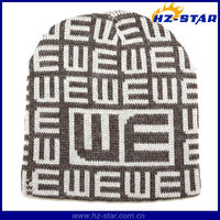 HZM-13727 style newest fashion fake fur 100% acrylic English letters hat