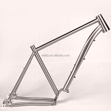 CX titanium pinion bike frame for pinion P1.18 Gearbox system