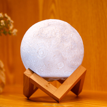 13cm Best Gift Night Light LED Luna Moon Light Lamp