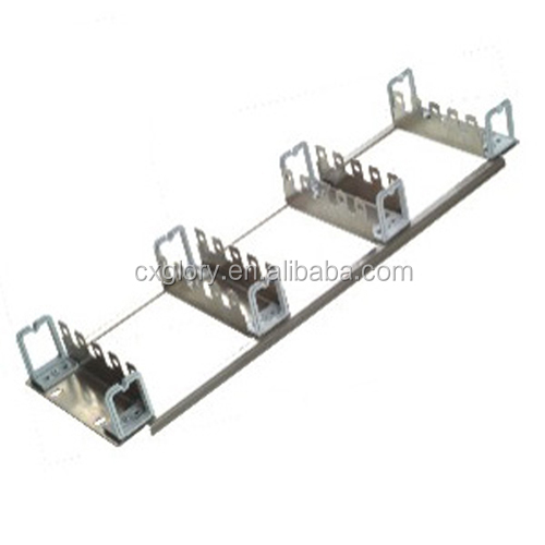 19 inch 150 Pairs Stainless Steel Krone Back Mount Frame For Cabinet
