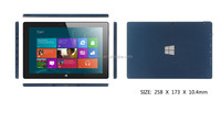 Laptops Quad core Wifi Bluetooth 2GB+32GB IPS screen 10inch Win8 Tablet PC