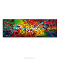 Modern Art Picture of Hand Made Abstract Oil Painting on Canvas