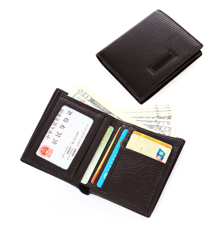 KID new Fashion Custom Gift Men's Genuine Leather Wallet