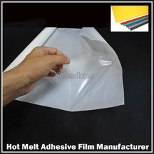 0.08mm Thickness Polyester Slitting Vinyl Laminating PVC for Edge Banding Adhesive Film