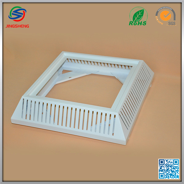 Smooth Edges color Powder Coating Steel Sheet metal laser cutting parts