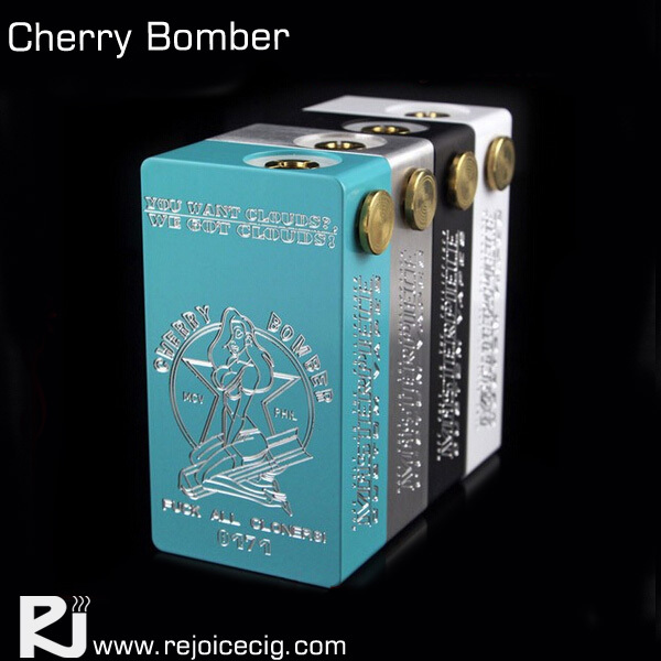 2015 Hottest cherry bomber copper black fully mechanical box mod