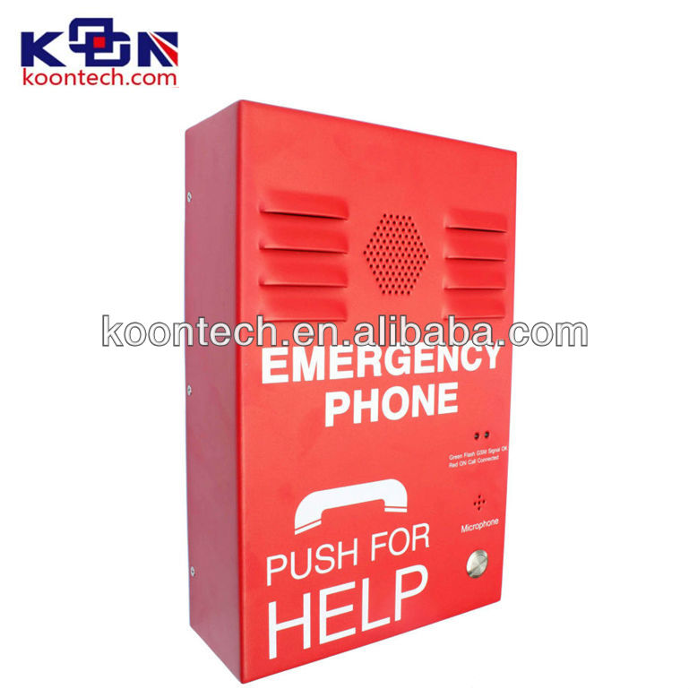 SMC Vandal resistant Industrial telephonefor elevator communication quad core 2g ram android phone KNZD-38