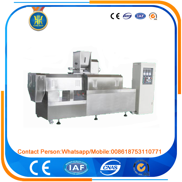 fish feed manufacturing machinery floating fish feed pellet machine
