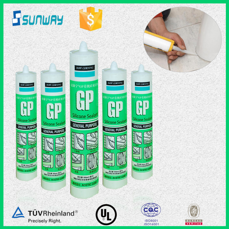 Dow corning gp acetic silicone sealant , white silicone sealant