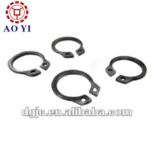 Round wire snap stainless steel retaining locating rings for shaft mold