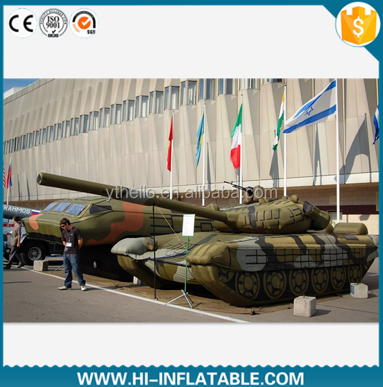 inflatable military tank/inflatable military decoy/military T96 inflatable dummy
