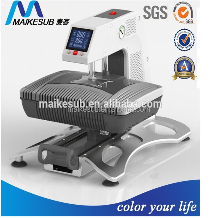 3D sublimation heat press machine t-shirt mugs phone cover printing machine
