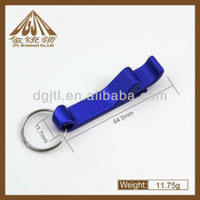 multifunction Bule Keychain Bottle Openers
