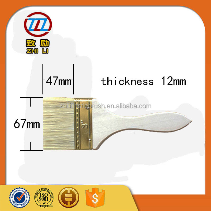 Cheap affordable paint <strong>brush</strong> with wooden handle 2.5 inch
