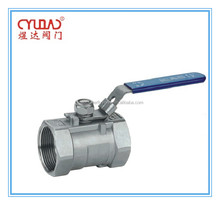CF8M Ball Valve With Extremal Thread