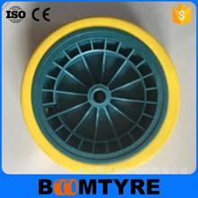 4.00-8 pu foamed filling tyre wheelbarrow wheel