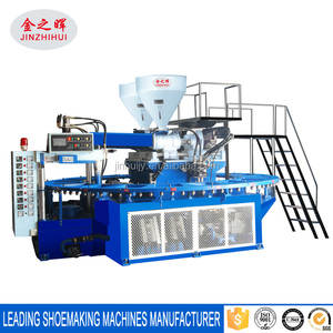two color mixed PVC slipper making machine