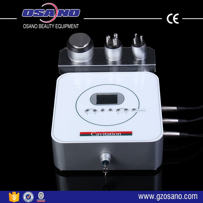 Monopolar Ultrasonic Cavitation Radio Wave Frequency RF Skin Tightening Machine For Home Use