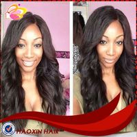 Body Wave 100% Virgin Brazilian Full Lace Wig Made In China