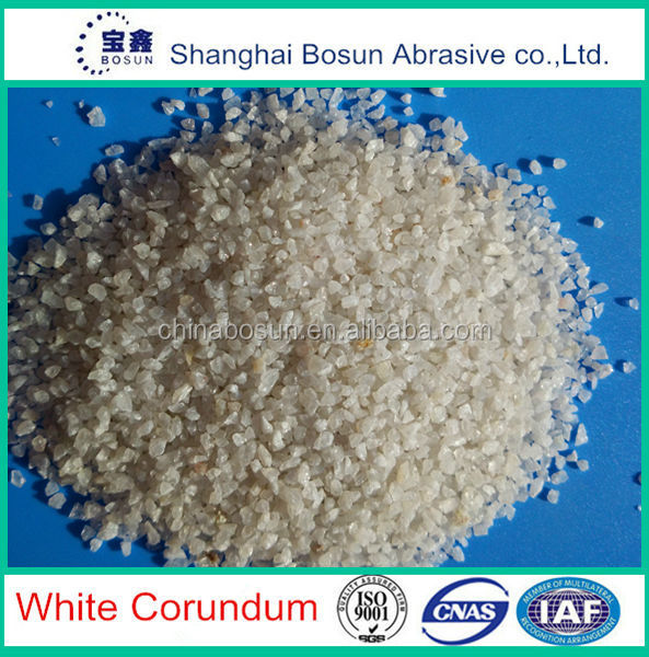 White Aluminum Oxide for cleaning and polishing in 1-2mm