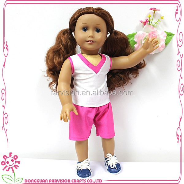 Most Popular High Quality Beautiful Nude Girl Doll 18 Inch For Kids