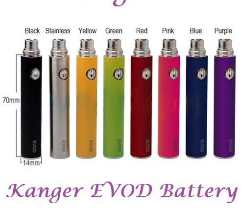 E cigarette battery and charger