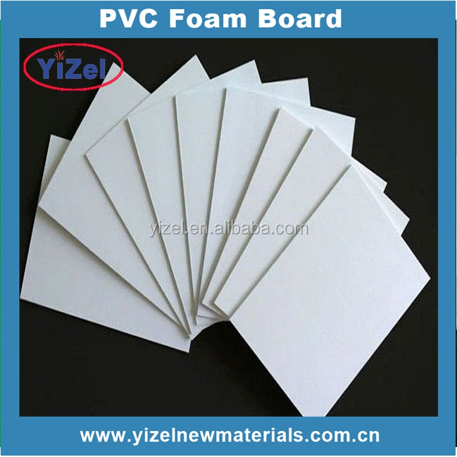 PRICE LIST Chinese factory high quality white 4x8 pvc rigid sheet
